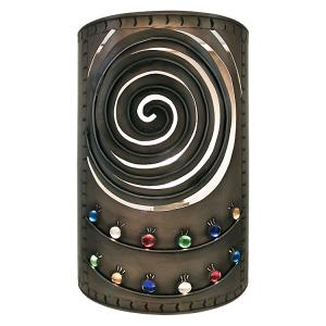 Curved SpiralWall Sconce