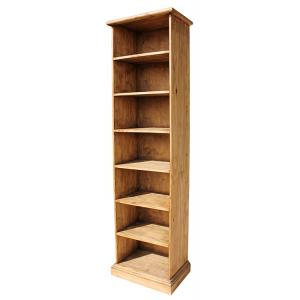 Narrow Rustic Bookcase