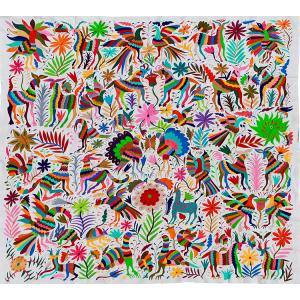 Flora & FaunaFino Quality Otomi Tapestry