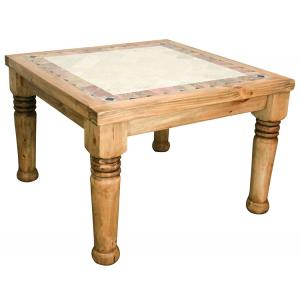 Louisiana Dining Tablew/Inlaid Marble
