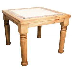 Louisiana Bistro Tablew/Inlaid Marble