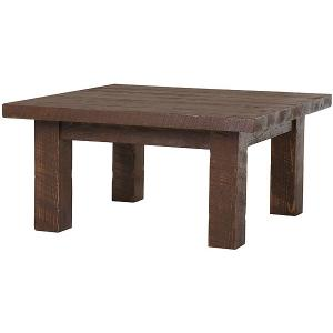 Tables and seating barnwood square coffee table bw38 for Square coffee table with seating underneath