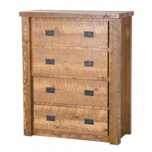 Barnwood 4-Drawer Chest