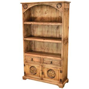Arched Star Bookcase