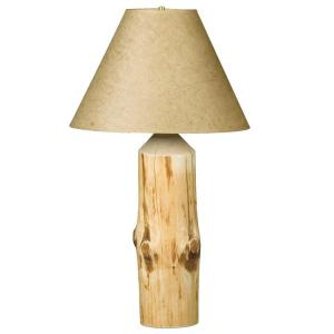 Wilderness Log Table Lamp