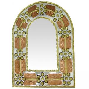 Gold Arched Mirror