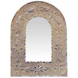 Silver Arched Mirror