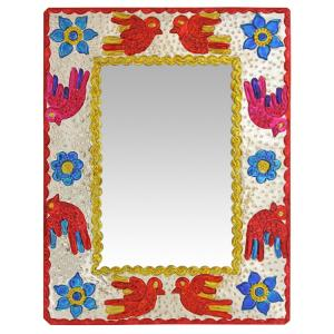 Rectangular Bird Mirror