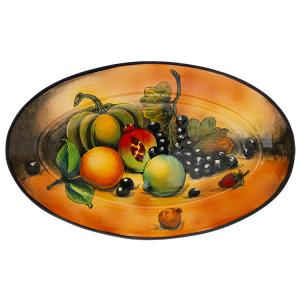 Oval Fruit Platter