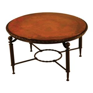 Round Durango Coffee Table