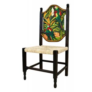 Large Woven Macaw Chair