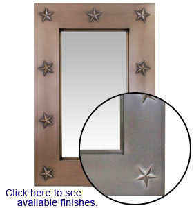 Texas Star Mirror