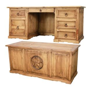 Texas Executive Deskw/ Drawer
