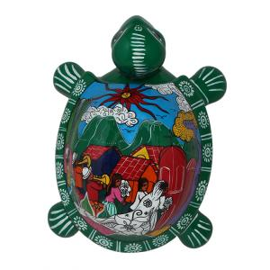 Large Green Turtle Box