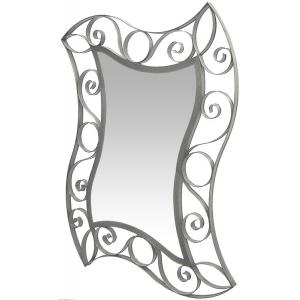 Curved Swirl Mirror