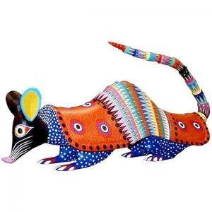 Oaxacan Woodcarving by Arsenio Morales