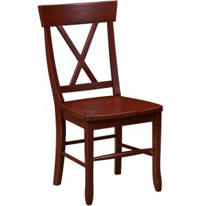 Country Cross Back Chair