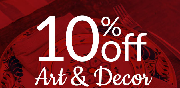 10% Off Art and Decor
