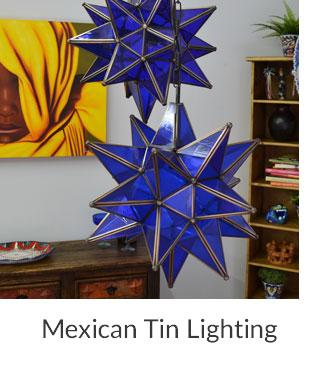 Mexican Tin Lighting