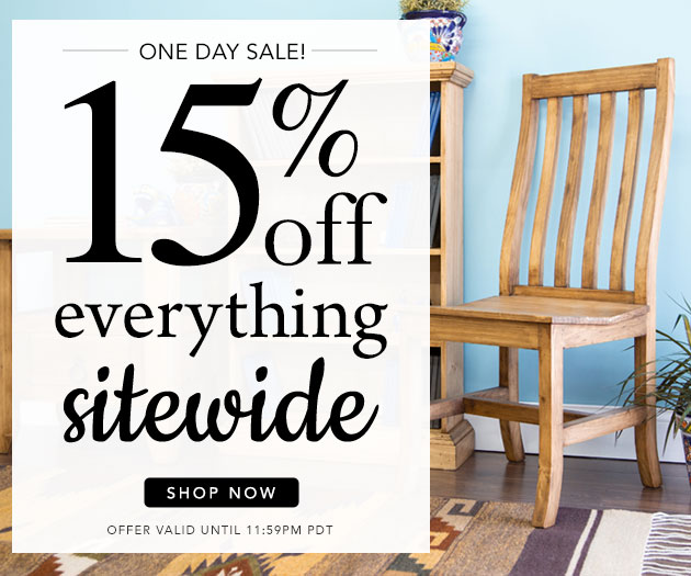 15% Off Everything Sitewide