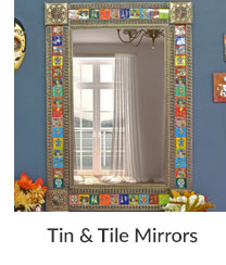 Tin & Tile Mirrors