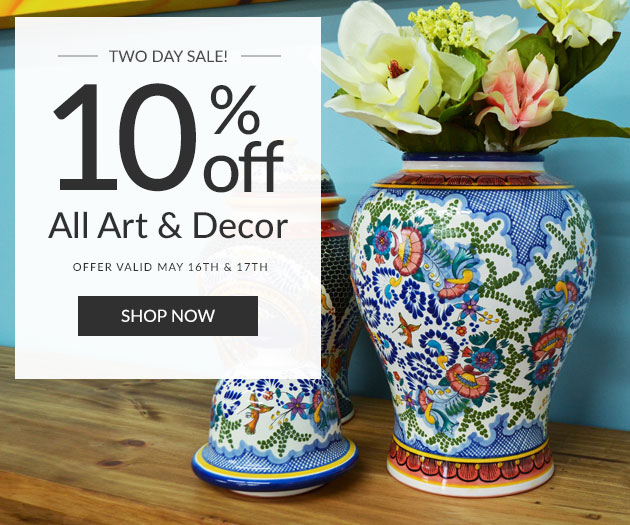 10% Off All Art & Decor