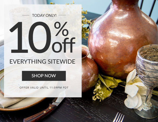 10% off Everything Sitewide