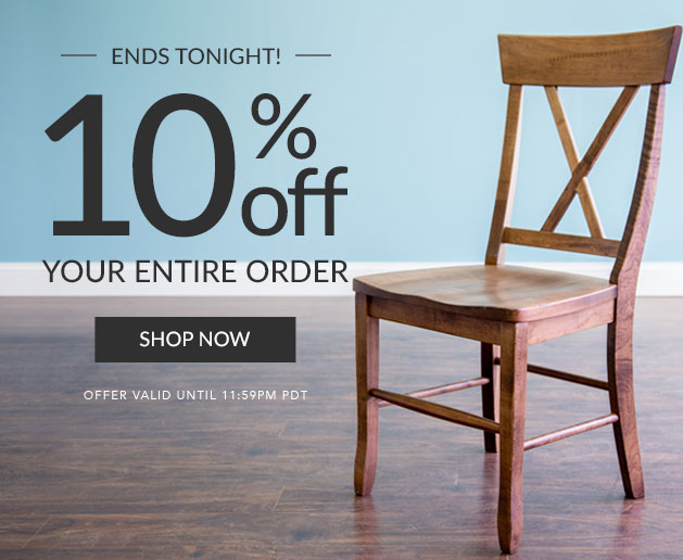 10% Off Your Entire Order