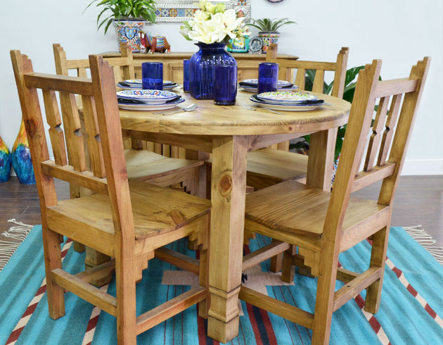 Rustic Pine Dining