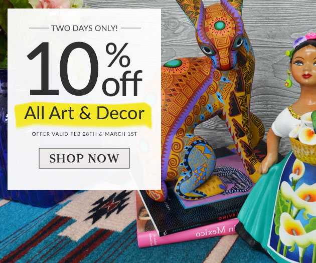10% Off Art & Home Accessories