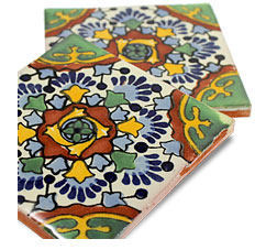 Hand-Painted Talavera Tile