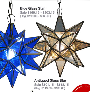 Mexican Tin Hanging Stars