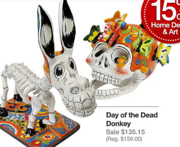 Day of the Dead Talavera Figures