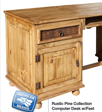 Rustic Pine Collection Desks