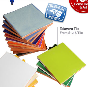 Talavera Tile From $1.15/Tile