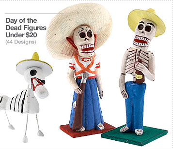 Day of the Dead Figures Under $20