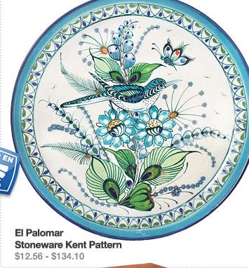 El Palomar Stoneware Kent Pattern