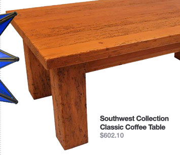 Southwest Collection Classic Coffee Table