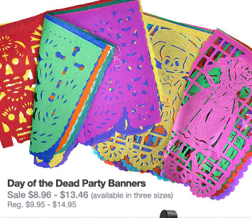 Day of the Dead Party Banners