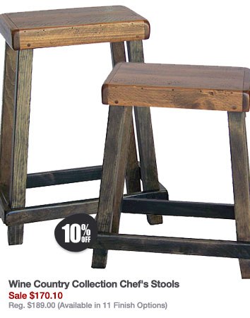 Wine Country Collection Chef's Stools