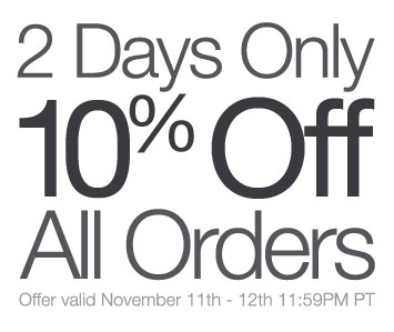 2 Days Only - Save 10% site wide at La Fuente
