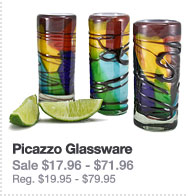Hand-Blown Glassware: Picazzo Glassware