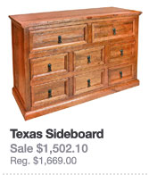 Southwest Collection: Texas Dresser