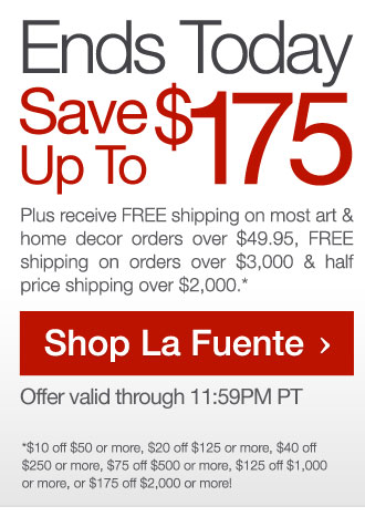 Ends Today: Save Up To $175 Site Wide + Free Shipping Over $49.95