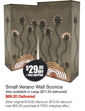 Small Verano Wall Sconce