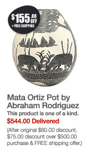 Mata Ortiz Pot by Abraham Rodriguez