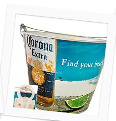 Corona Find Your Beach Beer Bucket