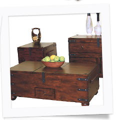 Santa Fe Trunk Tables