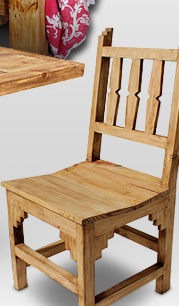 Rustic Pine New Mexico Chair