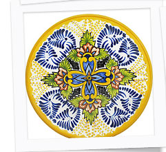 Authentic Mexican Talavera Place Settings